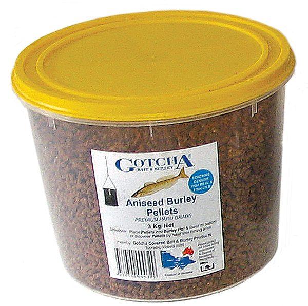 Burley Pellets Aniseed 3kg Tub