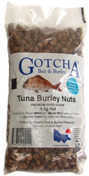 Burley Nuts Tuna 1 kg Bag