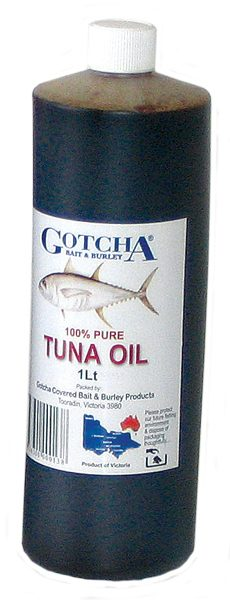 Tuna Oil Gotcha 1 Litre Bottle