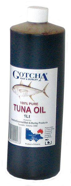 Tuna Oil Gotcha 1 Litre Bottle