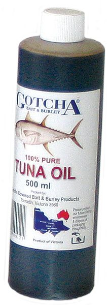 Tuna Oil Gotcha 500ml Bottle