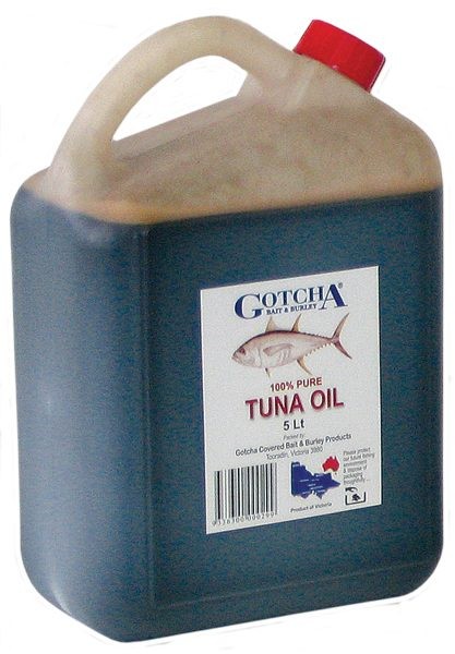 Tuna Oil Gotcha 5 Litre Bottle