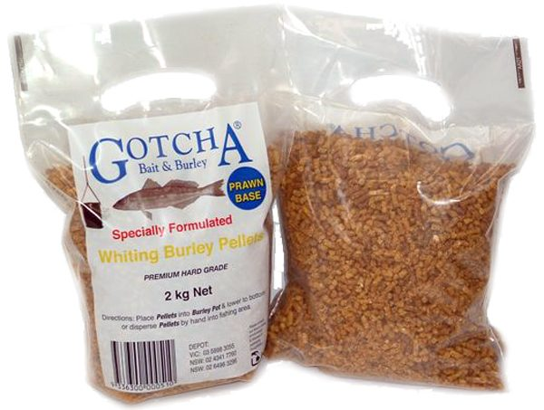 Burley Whiting Pellets 2kg Bag