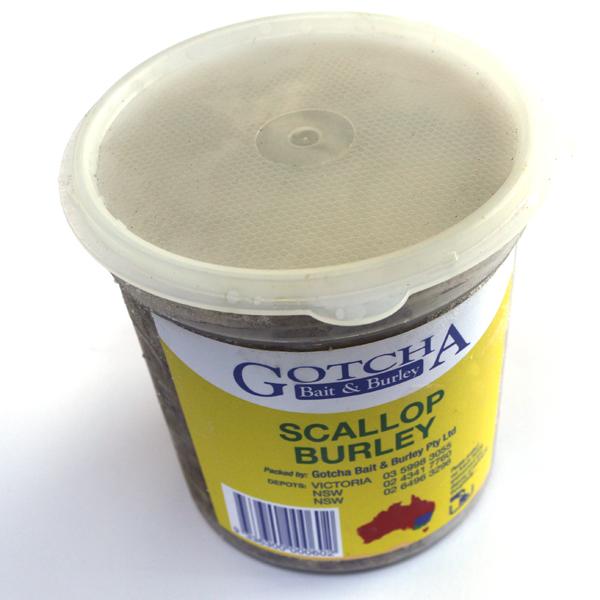 Burley Scallop 1kg Tub