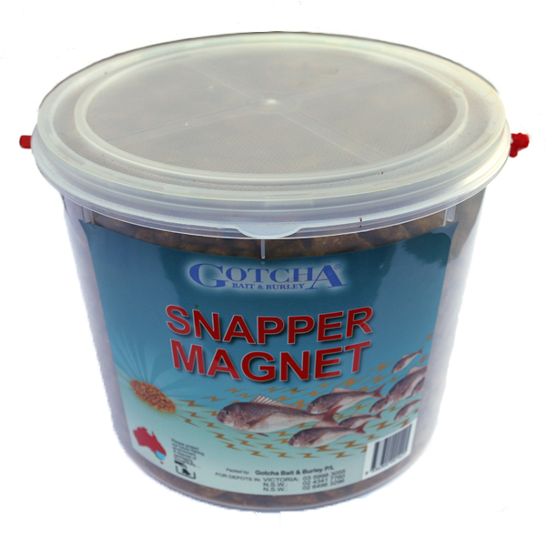 Snapper Magnet Bucket