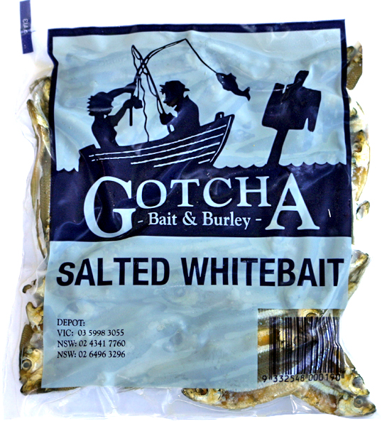 Whitebait Salted Pack