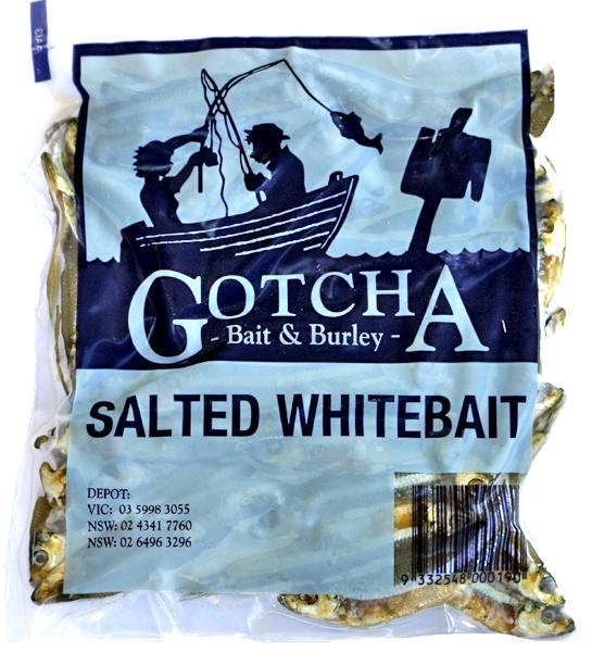 Whitebait Salted Pack