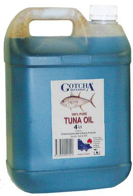 Tuna Oil Gotcha 4 litre bottle