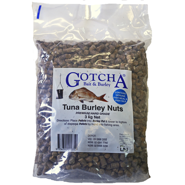 Burley Nuts Tuna 3kg Bag