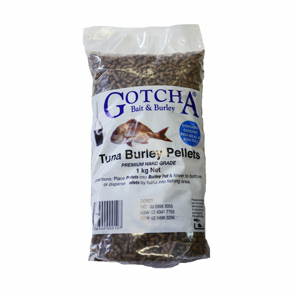 Burley Pellets Tuna 1kg Bag