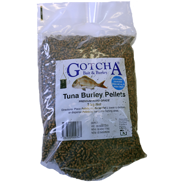 Burley Pellets Tuna 3kg Bag